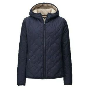 UNIQLO women pile-lined quilted parka